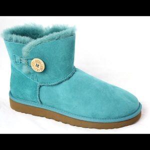 Turquoise Australia UGG Mini Bailey Boots